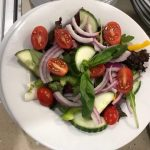 Pizzeria Famosa - mixed side salad